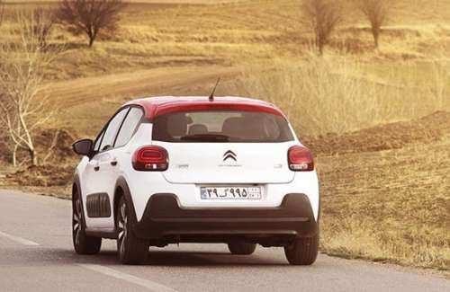 مشخصات کامل و تجهیزات خودروی سیتروئن C3 شرکت سایپا