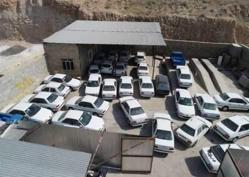 کشف 5 هزار خودروی بدون پلاک در کشور