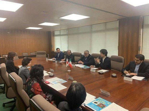بازدید رییس سازمان فرهنگ و ارتباطات اسلامی از کتابخانه مجلس ژاپن