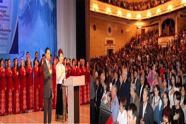 برگزاری جشن باشکوه هشتادوپنجمین سال تاسیس کتابخانه ملی قرقیزستان